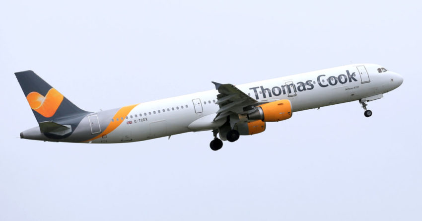 Thomas Cook profit warning