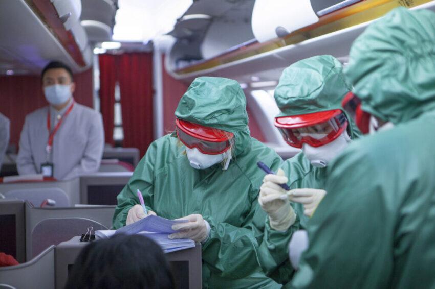 Airport Coronavirus test
