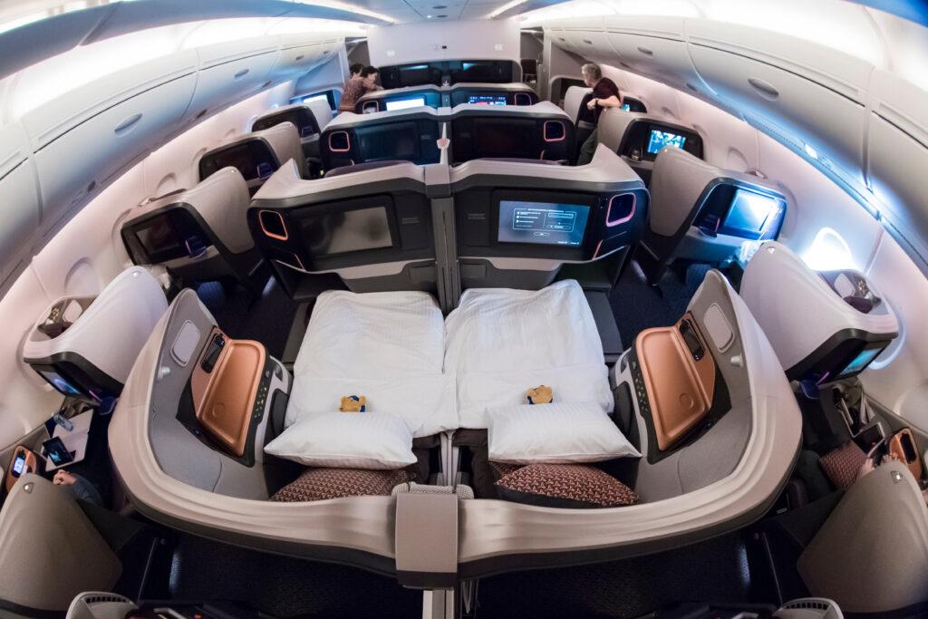 Business flights