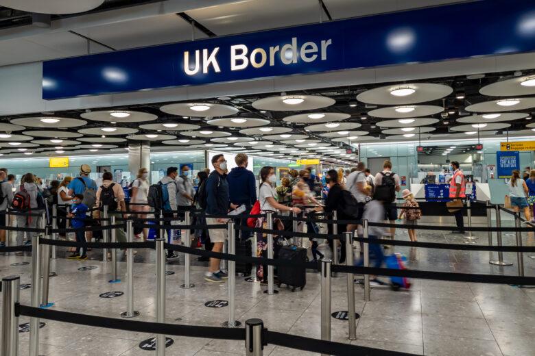 UK Passport gates