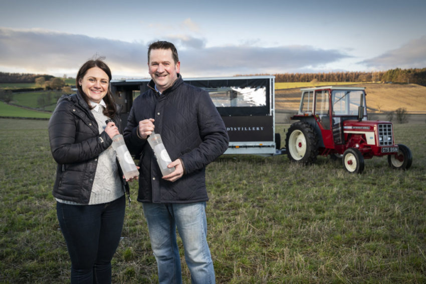 Caroline & Graeme Jarron on their family potato farm